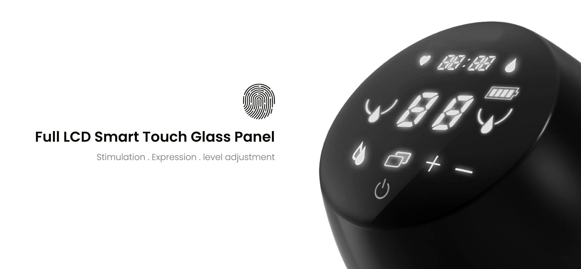 Smart Touch Glossy Screen