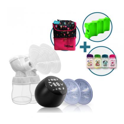 Milk Planet Orbit Dual-motored Breastpump - with Igloo set