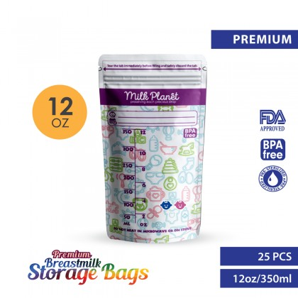 Milk Planet Extra Premium Breastmilk Storage Bag (3.5oz/100ml)