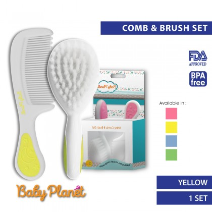 Baby Planet's Baby Comb & Brush